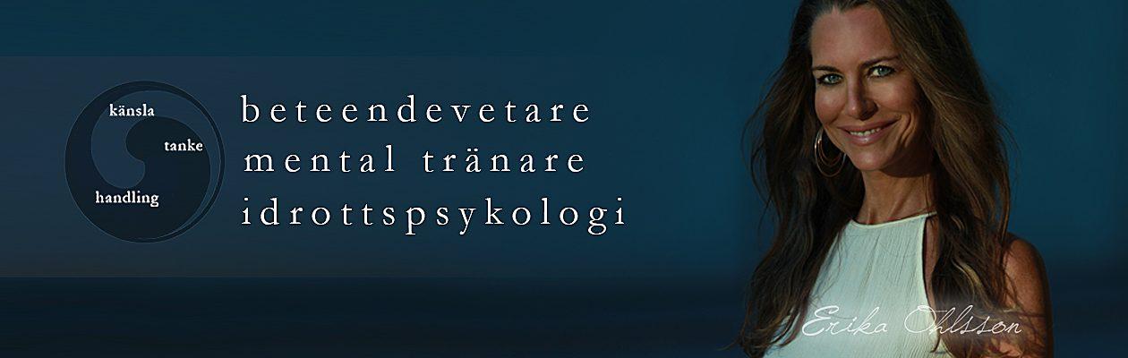Erika Ohlsson –  mental träning, KBT, coaching, idrottspsykogi & föreläsare i Stockholm